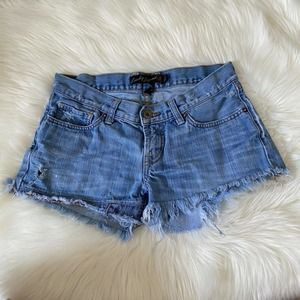 Lucky Brand Riley Jean Short 25/0 Distressed